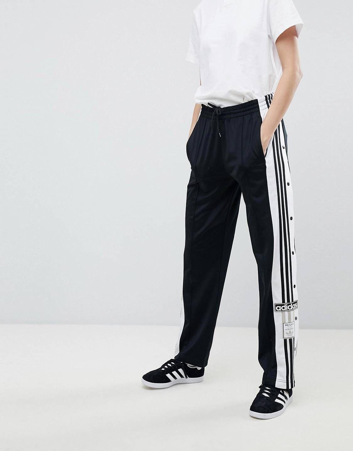pantalon adidas bouton