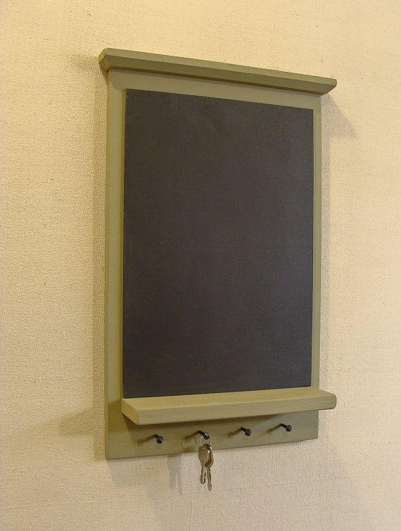 Chalkboard   Key Holder  Mail Key Holder Key by NorthCoastSign, $39.00