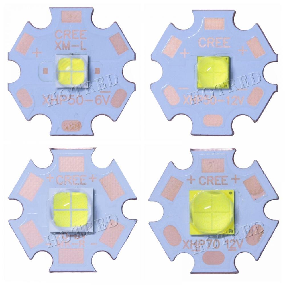 CREE XHP50.2 XHP70.2 generation LED chip 6V 12V white//warm white 20mm Copper PCB