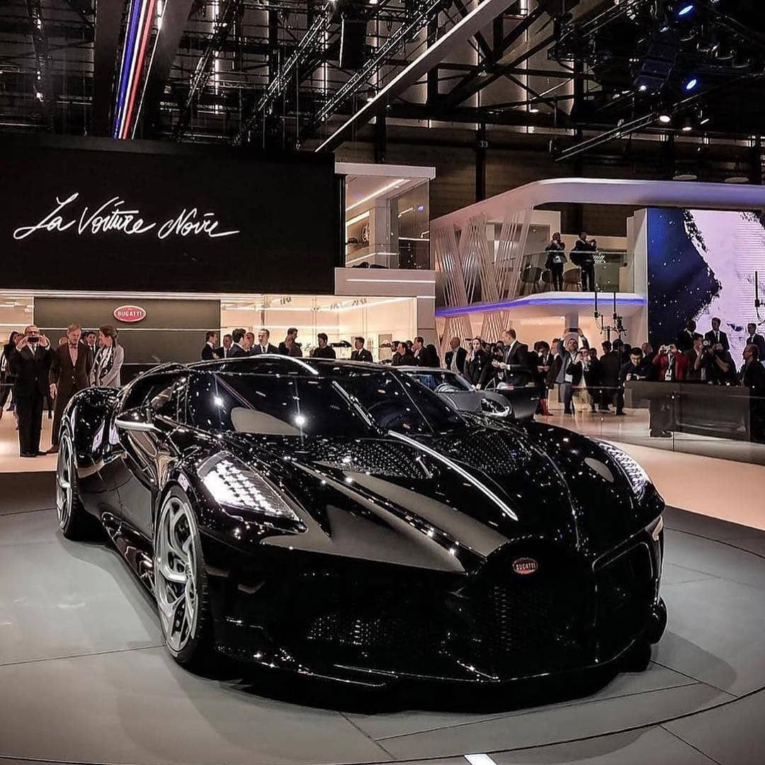 Luxury Cars Lifestyle On Instagram The One Off Bugatti La Voiture Noire 1 500 Ps Is The Most Expensive Car Of All Time W Bugatti Cars Bugatti Sports Car