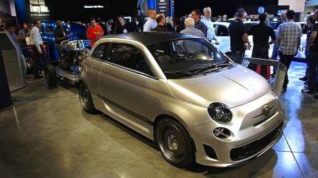 Fiat 500 Cafe Racer