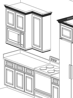 Microwave Built Into Wall Cabinets