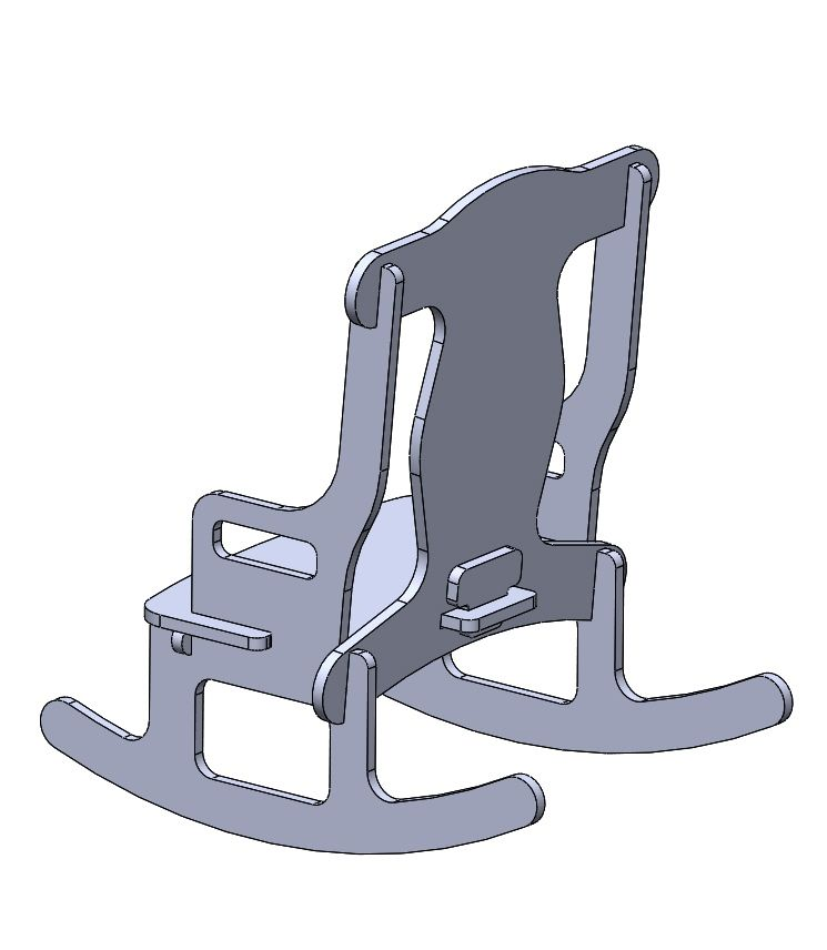 no nail childs rocking chair google search woodworking plans