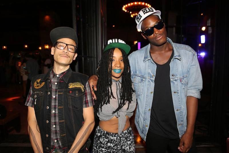 Dirtyfinger, Njena Reddd Foxxx, Zebra Katz at Midsummer