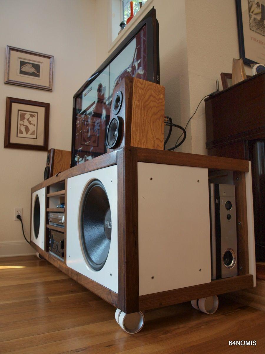 Console 2 0 diy hi fi project speaker htpc - Westling muebles ...