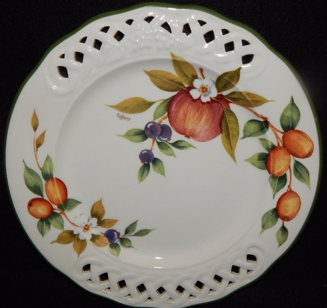 "Pfaltzgraff FLORA GOLD Salad Plate 8 1//2/""     1 available"