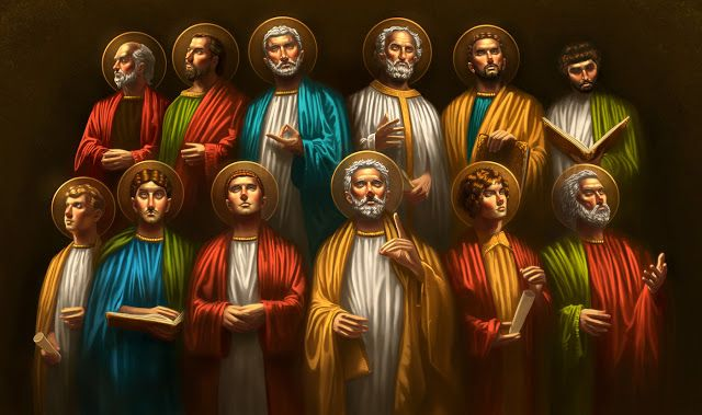 CGAddict | George Miltiadis Blog: The Twelve Apostles | Twelve apostles,  Life of jesus christ, Apostles