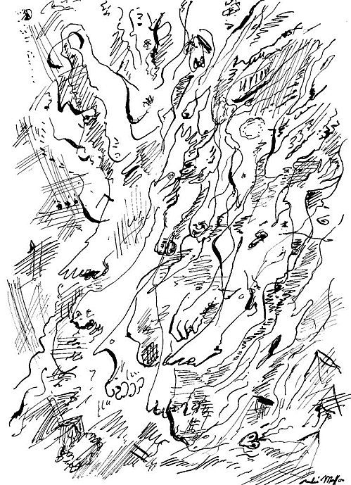 Andre Breton Automatic drawing