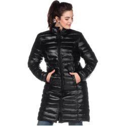 Photo of Large sizes: long quilted jacket, black, size 52 SheegoSheego