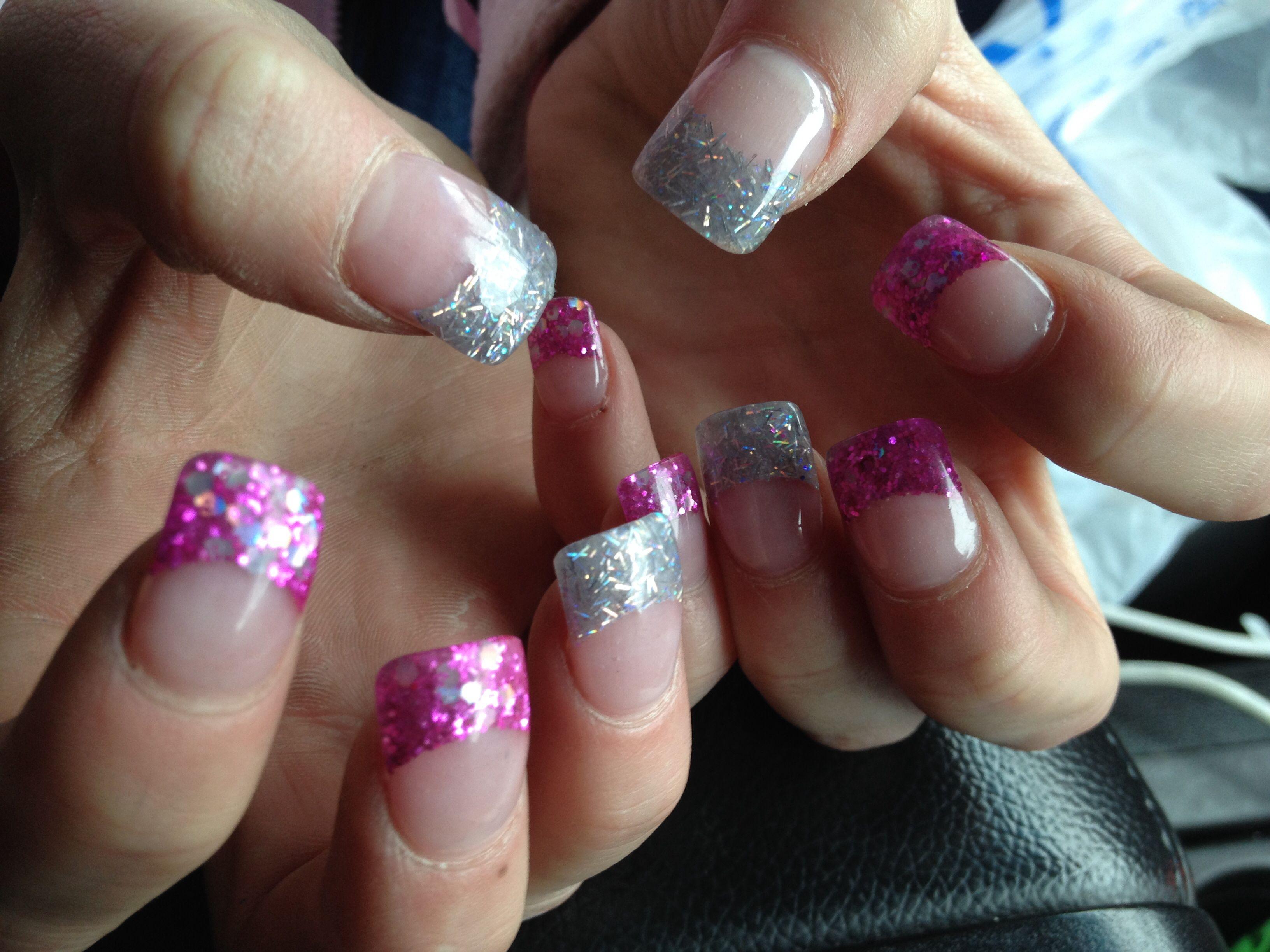 Lexi\'s new set of acrylic nails | Spirited Fingers | Pinterest ...