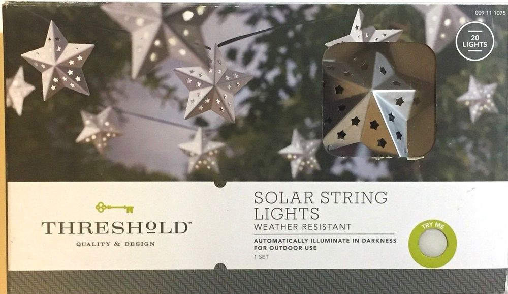 Threshold Led String Lights