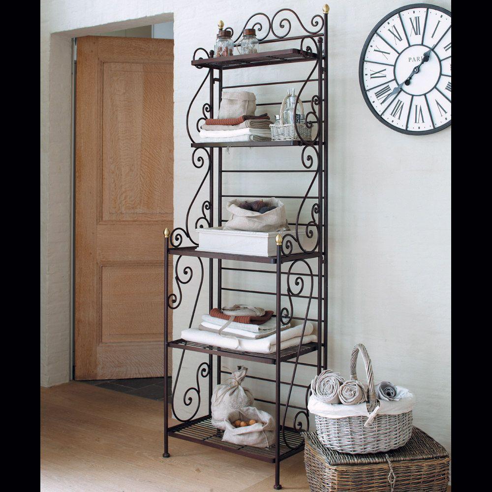 Etagere Classica Maisons Du Monde Iron Furniture Wrought Iron Furniture Wrought Iron Decor