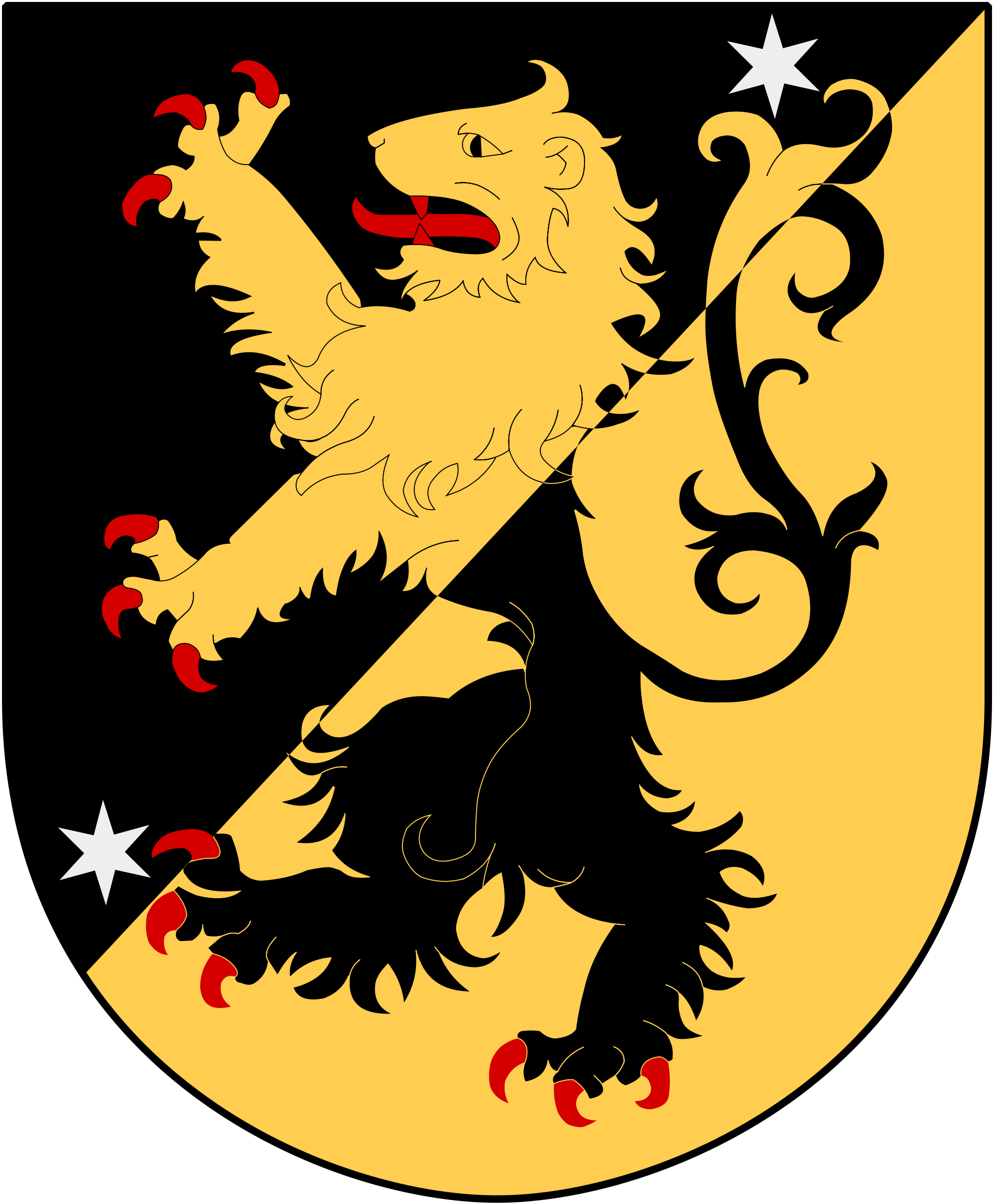 Coat Of Arms Of The Province Of Vastergotland Sweden Coat Of Arms Medieval Paintings Heraldry