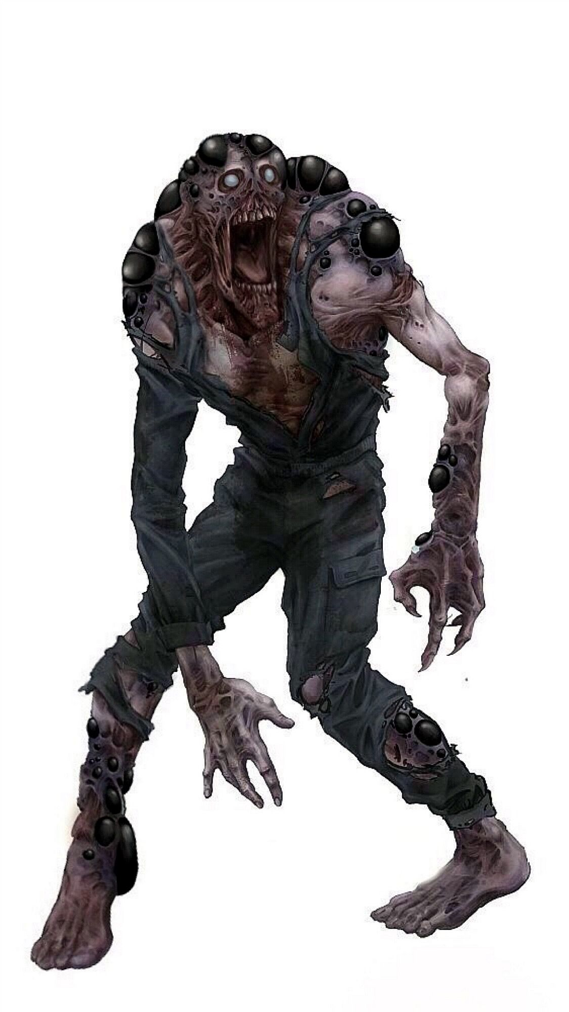 Pin By Greyson T On Undead Zombie S Infected Creature Art