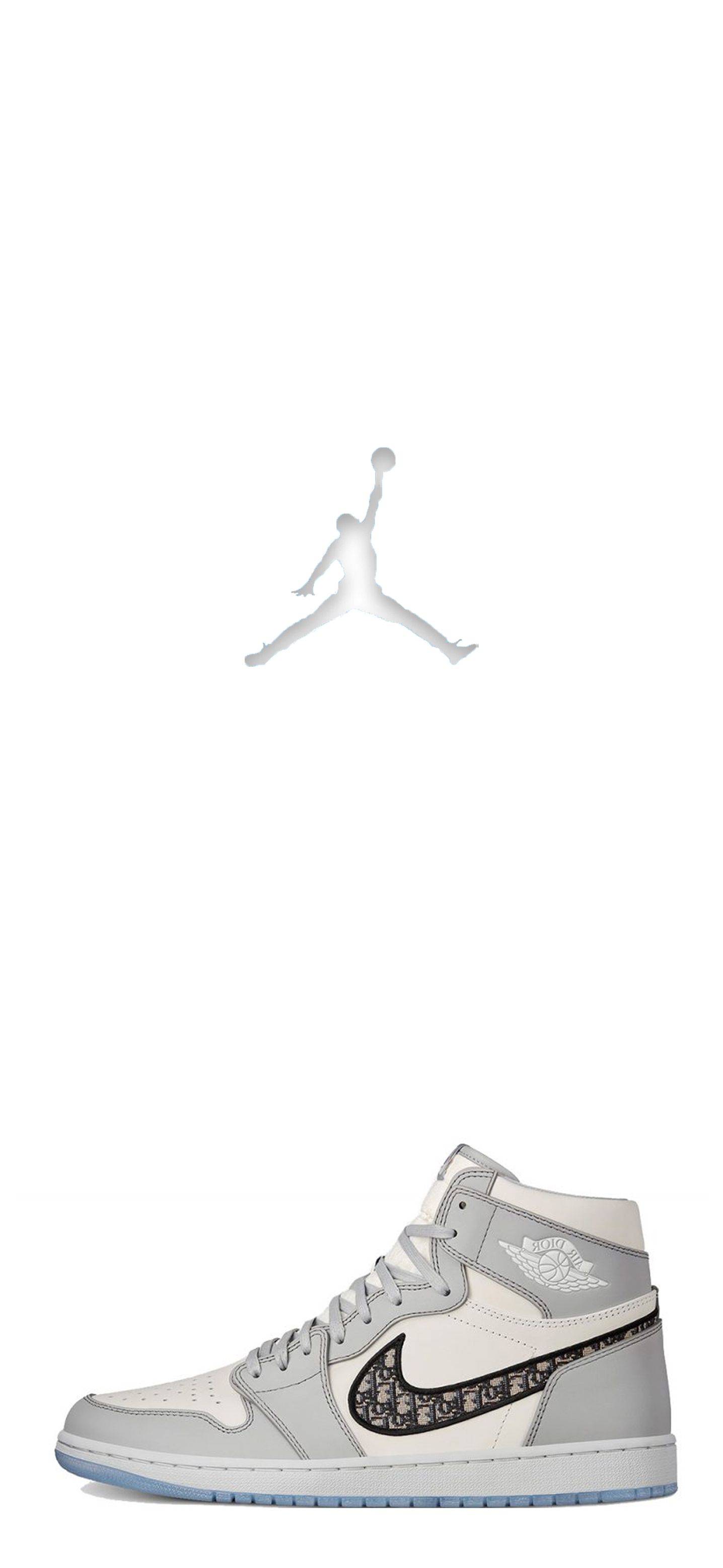 Air Jordan 1 (Dior)   Nike air jordan shoes men, Jordan shoes ...