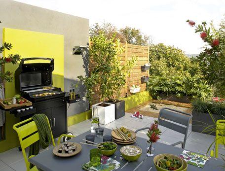 15 ides pour amnager une cuisine dt lextrieur - Decorer Une Terrasse Avec Des Plantes