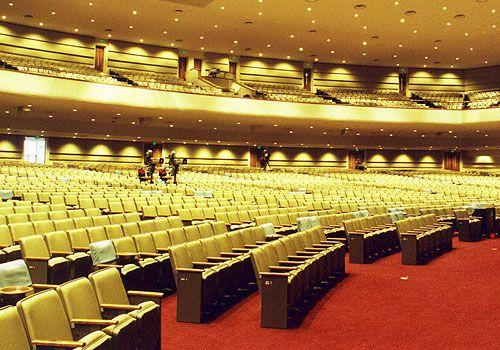 Auditorium and Stadium Seating - Sedia Systems Mercury