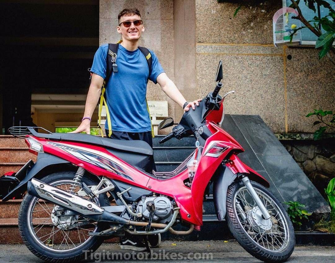 Nice Customer And The Honda Blade 110 Tigitmotorbikes