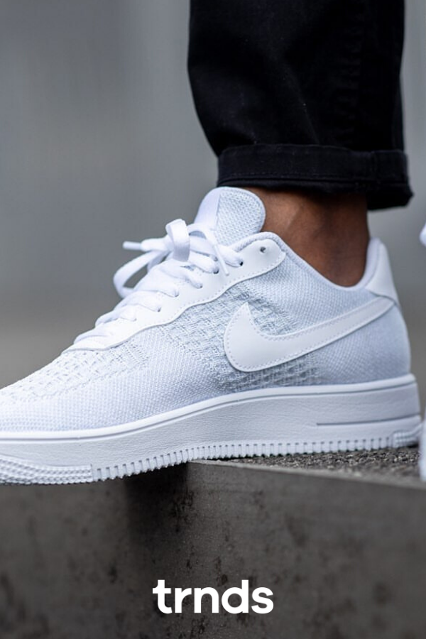 nike air force 1 flyknit basse