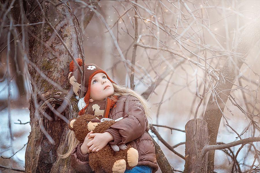 Художественная обработка зимней фотографии когда