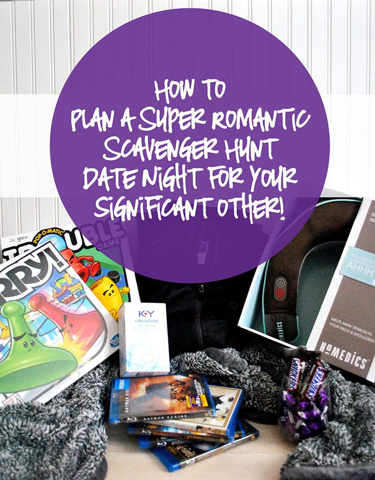 How to plan a romantic scavenger hunt