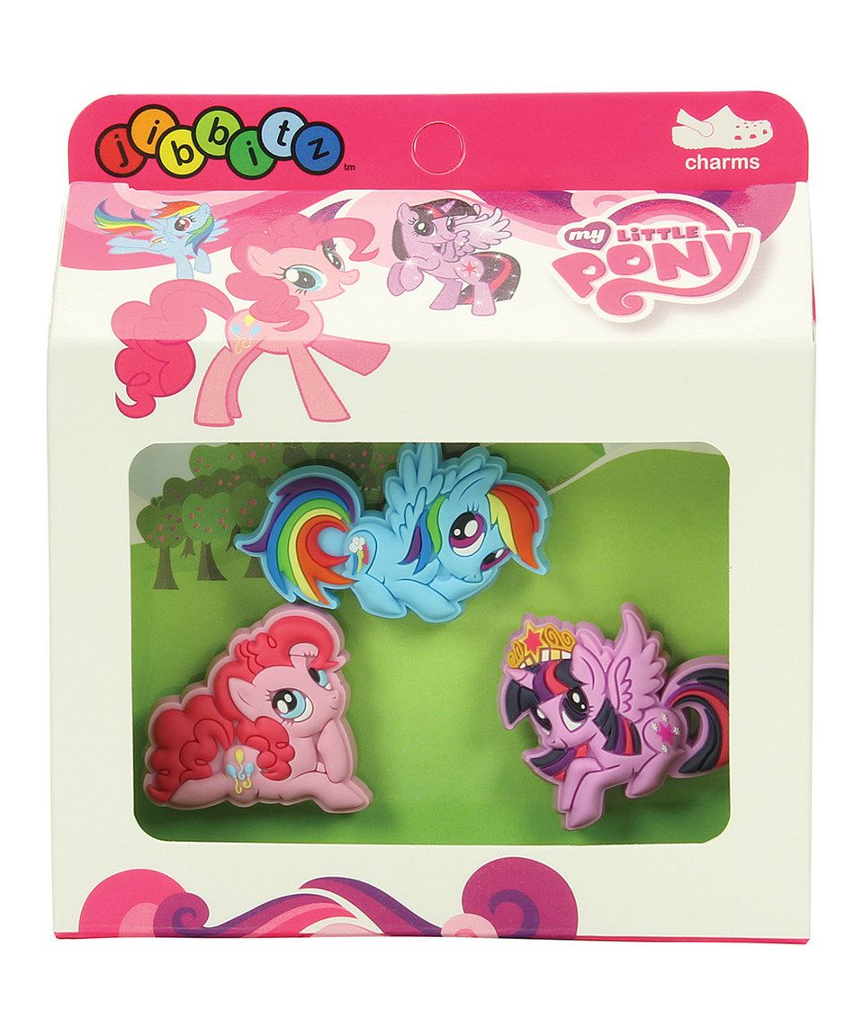 414b709536cde Look at this  zulilyfind! Jibbitz My Little Pony Jibbitz™ Shoe Charm ...