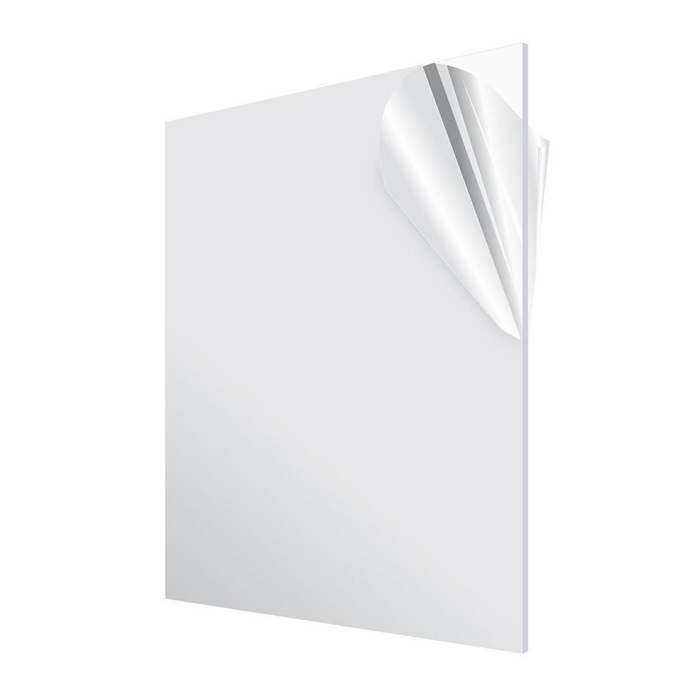 Adiroffice 24 In X 36 In Clear Plexiglass Acrylic Sheet 2436 1 C Clear Acrylic Sheet Acrylic Sheets Plastic Sheets