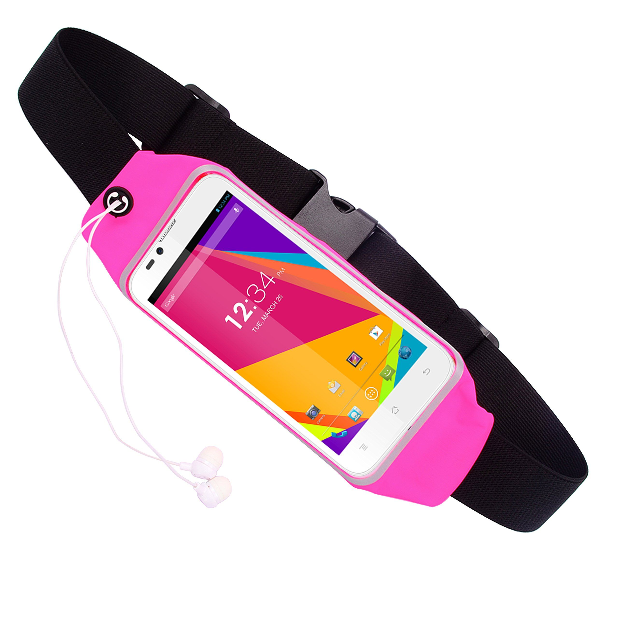 save off b5df6 ec700 Water Resistant Running Waist Pack Belt Pouch Bag Case for BLU ...