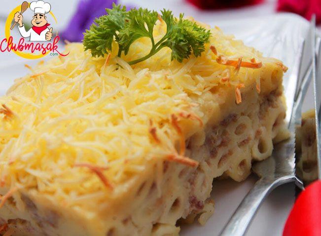 Resep Macaroni Schotel Kukus Cara Membuat Macaroni Cheese Club Masak Resep Makaroni Masakan Indonesia