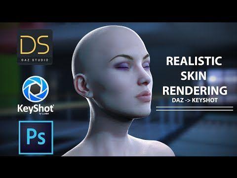 Tutorial: Realistic Skin Rendering Daz3D to Keyshot