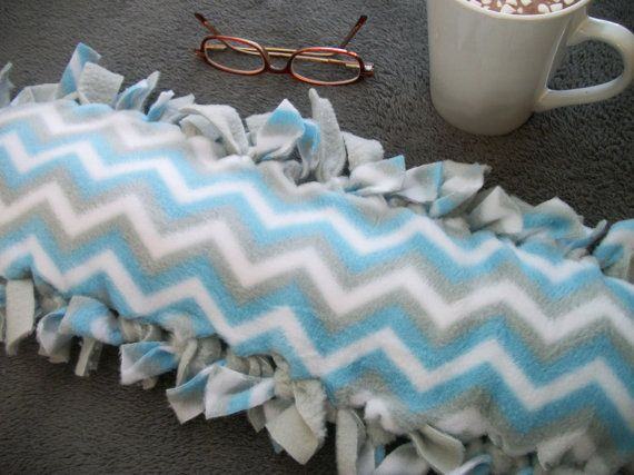 Chevron Fleece Rice Heating Pad Christmas Gifts by TLCHandcrafted