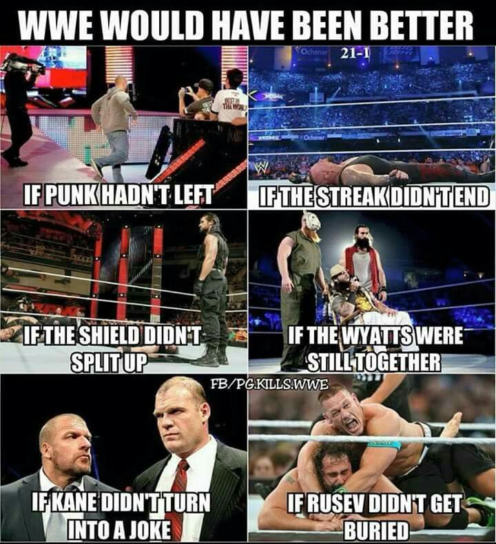 i agree with all of these..except punk...i didnt like him that much