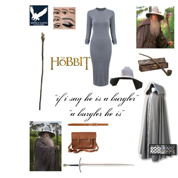 Gandalf the Grey by zemcculloch on Polyvore featuring polyvore fashion style The Cambridge Satchel Company Dorothy Perkins