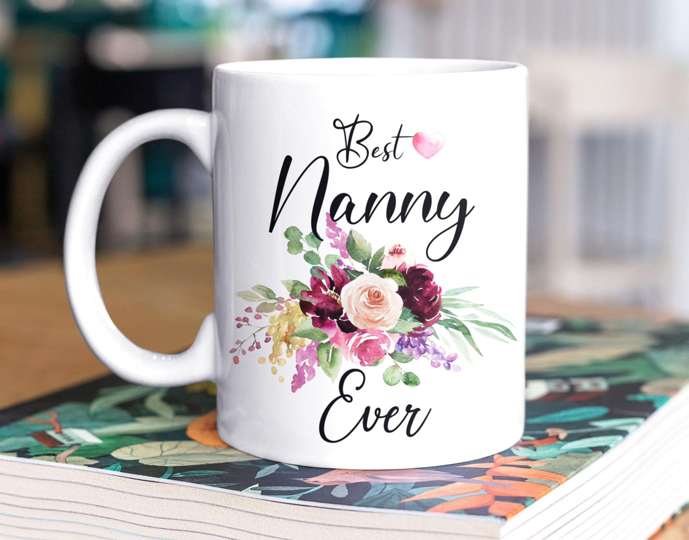 Best Nanny Ever Coffee Mug - Nanny Gift From Kids - Gift ...