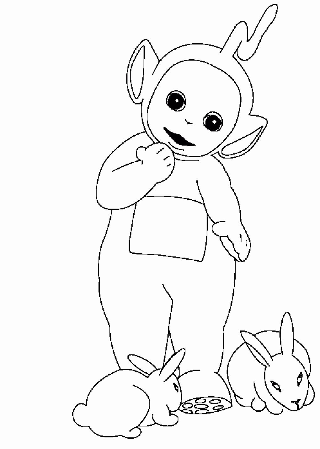 Kids Online Coloring Page Unique Free Printable Teletubbies Coloring Pages For Kids In 2020 Kids Printable Coloring Pages Online Coloring Pages Cartoon Coloring Pages