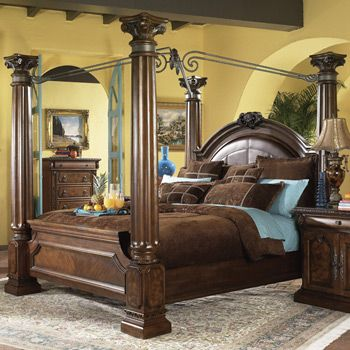 Ashley Furniture Beds For Sale Mollino Canopy Bed By Ashley Furniture