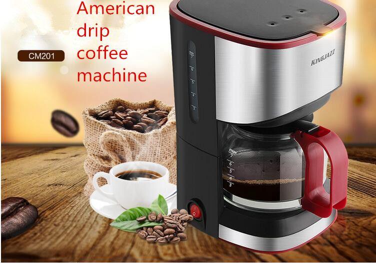 Home All Semi Automatic American Style Drip Type Small Coffee Making Machine Tea Insulation Coffee Pot Coffee Making Machine Coffee Pot Dripping