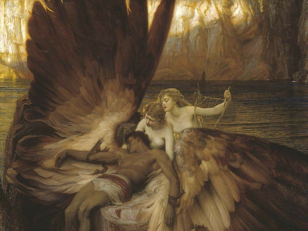 Greek Myths & Legends; Paintings of Classical Mythology and a ...