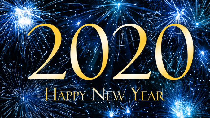 New Year 2020 Wishes For Everyone Happy New Year Wallpaper Happy New Year Images Happy New Year Quotes
