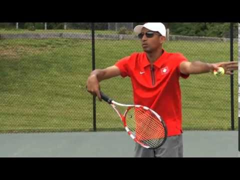 Finally All Top Servers Use Easter Backhand Grip On Serve Tennis Lessons Tennis Tennis Racket