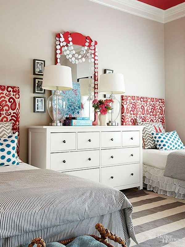 Pretty shared bedroom designs for girls home ideas - Shared girl bedroom ideas ...