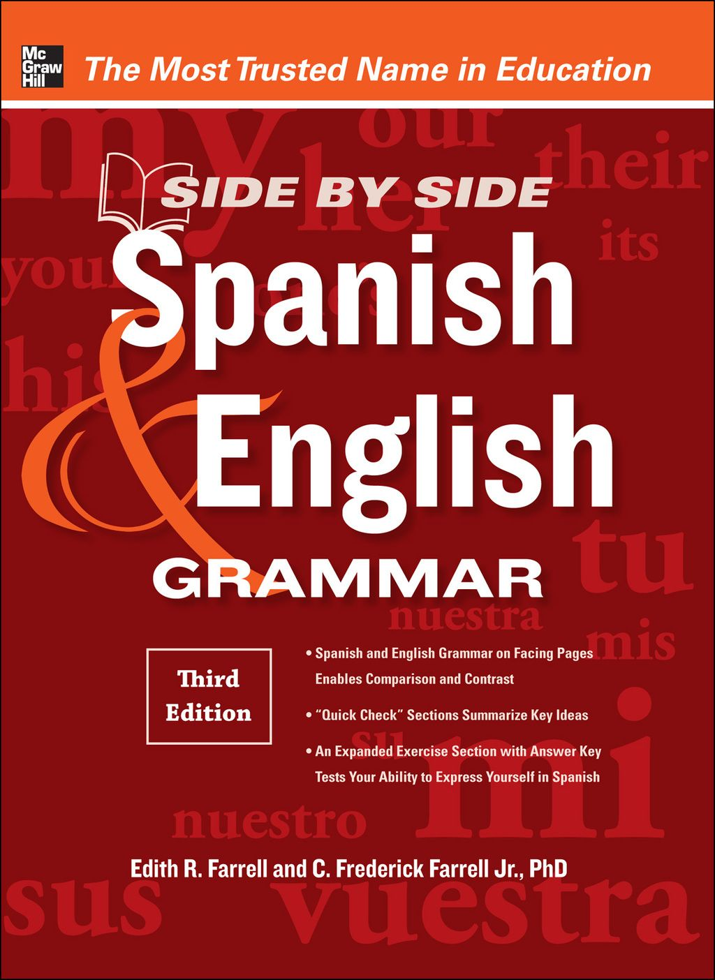 Side-By-Side Spanish and English Grammar 3rd Edition (eBook