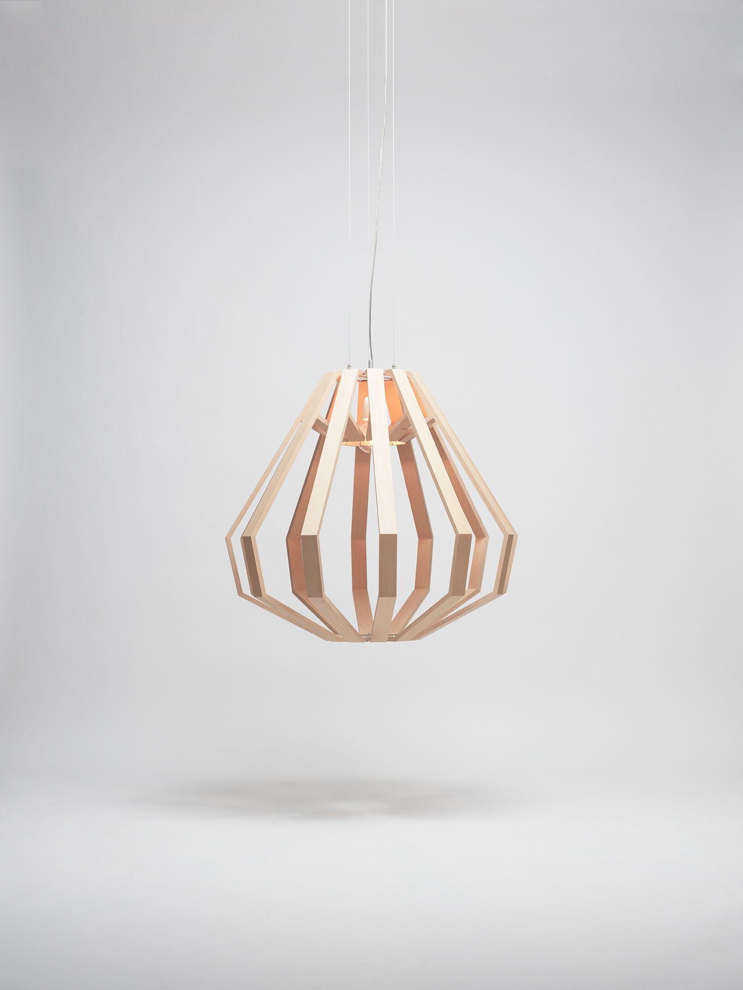 Forme Suspendu Bois ConiqueDesign Apollo De Grande En Lampe c5luK3JF1T