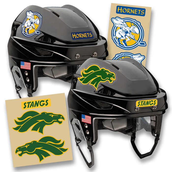Hockey Helmet Decals Hockey Helmet Helmet Hockey