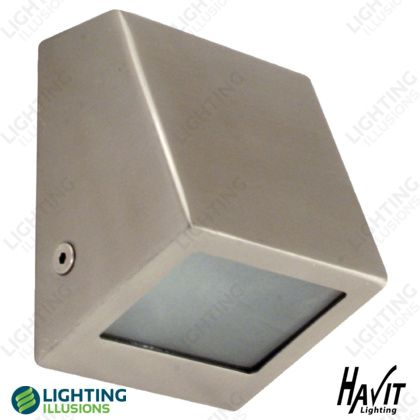 Outdoor LED Lighting  sc 1 st  Pinterest & Warm White 316 Stainless Steel Surface Mounted Mini LED Wall Wedge ...