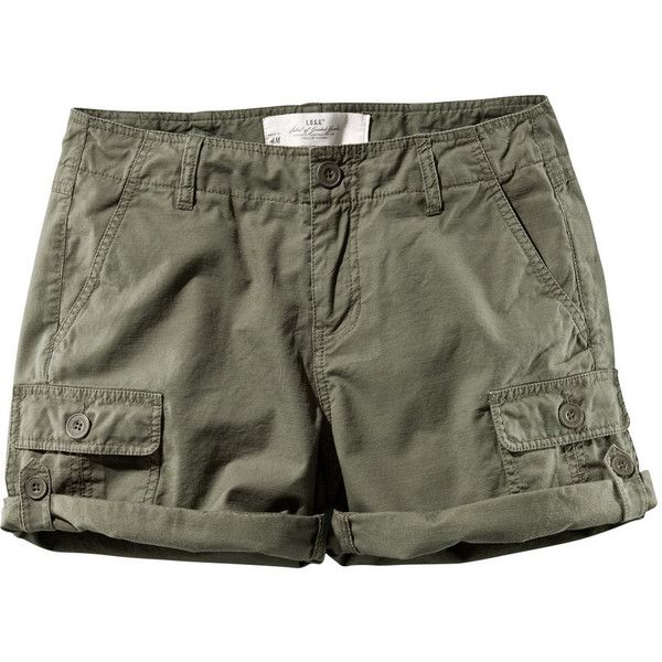 f187a4a97c Shorts ($14) ❤ liked on Polyvore featuring shorts, women, cotton cargo  shorts…