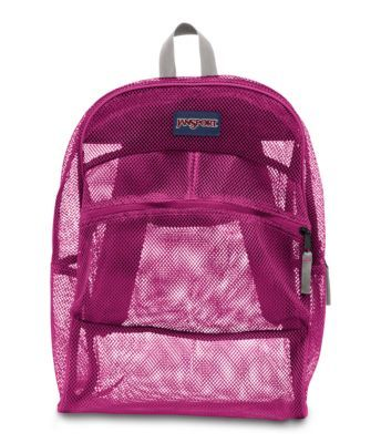 When you need everything in sight, the clear JanSport Mesh ...