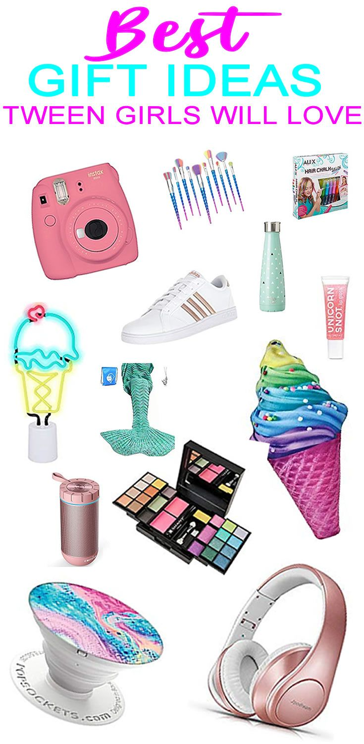 Best Gift Ideas For Tween Girls Birthday presents for
