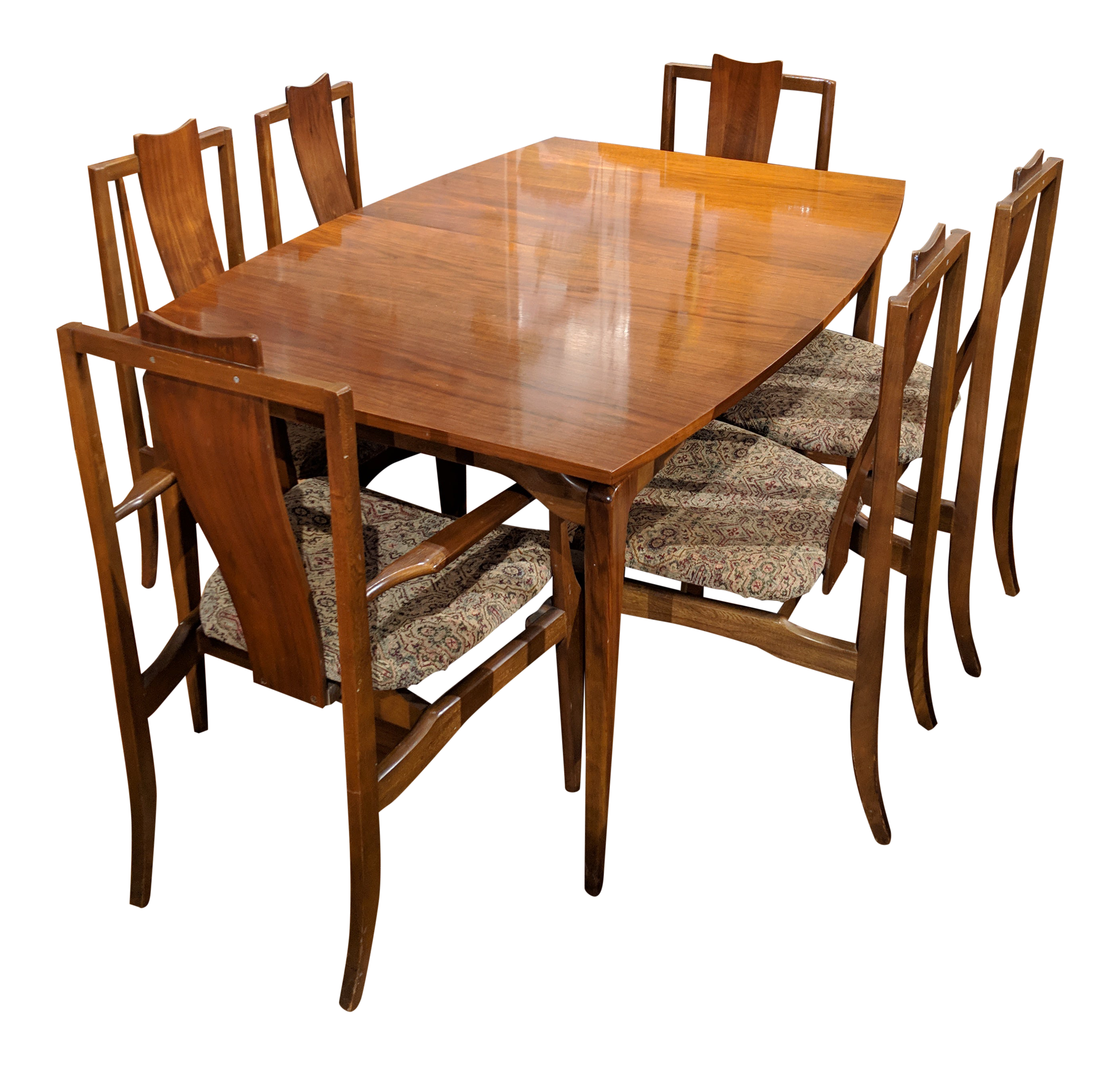 Vintage Young Furniture Dining Set 7 Pieces On Chairish Com Dining Furniture Furniture Dining Table Chairs
