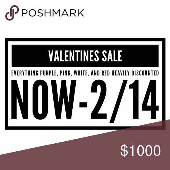 Valentine sale! Bundle and save Accessories